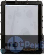 Сенсорное стекло для Ipad 1 черное + рамка 3G